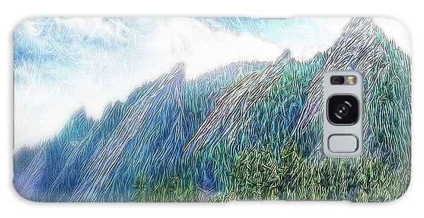 Mountain Pine Meadow Galaxy Case