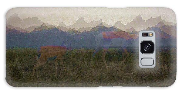 Mountain Pronghorns Galaxy Case