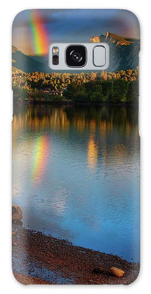 Mountain Rainbows Galaxy Case