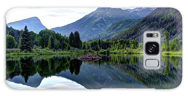 Elk Mountain Reflections Galaxy Case