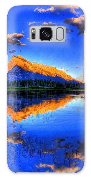Mountain Reflection Galaxy Case by Sean McDunn