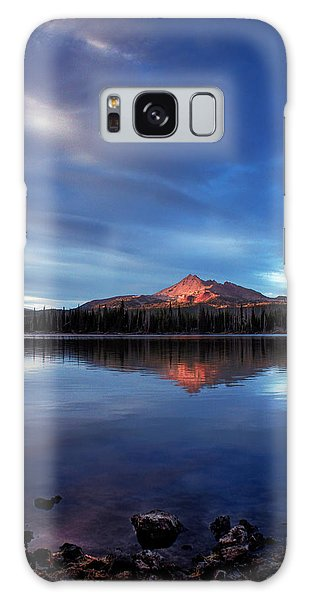 Mountain Reflection Galaxy Case