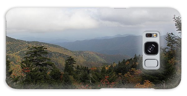 Mountain Ridge View Galaxy Case