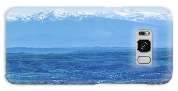 Mountain Scenery 16 Galaxy Case
