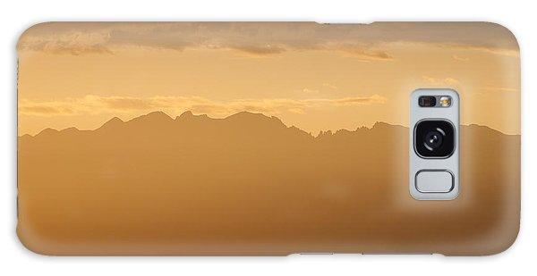 Mountain Shadows Galaxy Case by Colleen Coccia