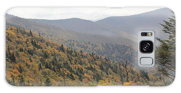 Mountain Side Long View Galaxy Case