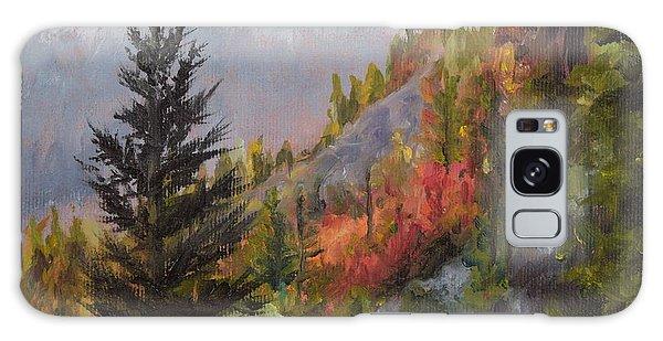Mountain Slope Fall Galaxy Case