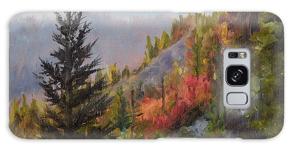 Mountain Slope Fall Galaxy Case