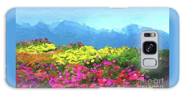 Mountain Spring Galaxy Case
