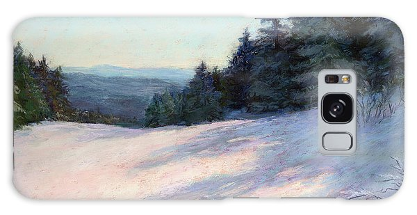 Mountain Stillness Galaxy Case by Vikki Bouffard