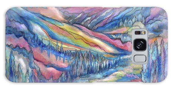 Mountain Stream Galaxy Case