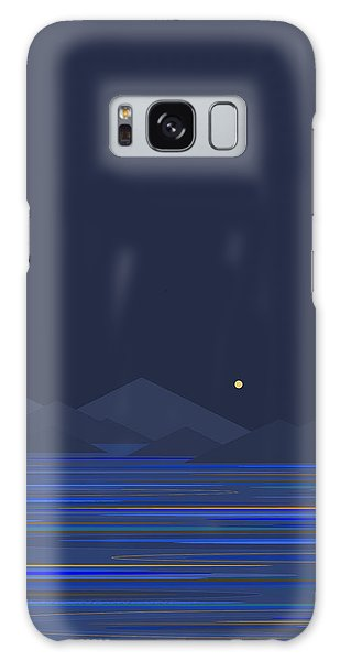 Mountain Tops II Galaxy Case by Val Arie