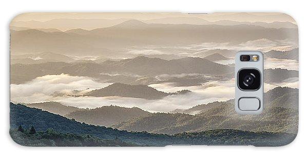 Mountain Valley Fog - Blue Ridge Parkway Galaxy Case