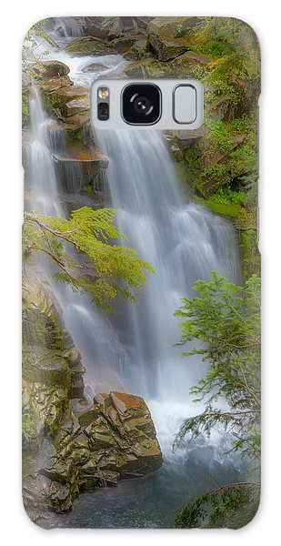 Mountain Waterfall 5613 Galaxy Case