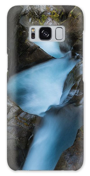 Mountain Waterfalls 5863 Galaxy Case