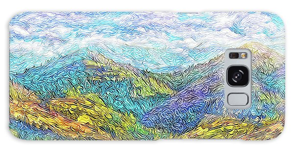Mountain Waves - Boulder Colorado Vista Galaxy Case