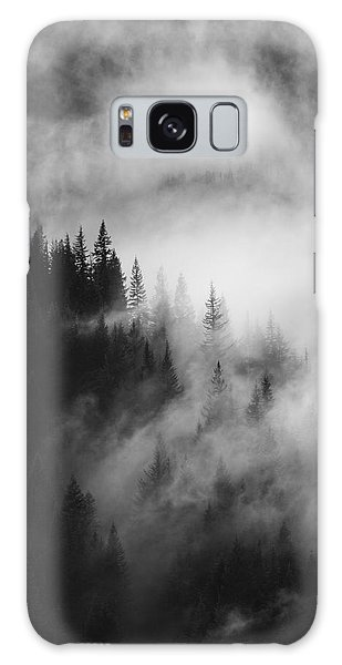 Mountain Whispers Galaxy Case by Mike  Dawson
