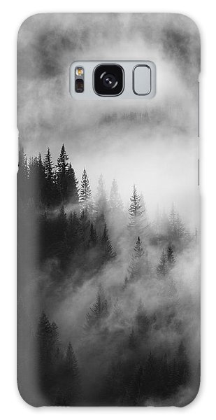 Outdoors Galaxy Case - Mountain Whispers by Mike  Dawson