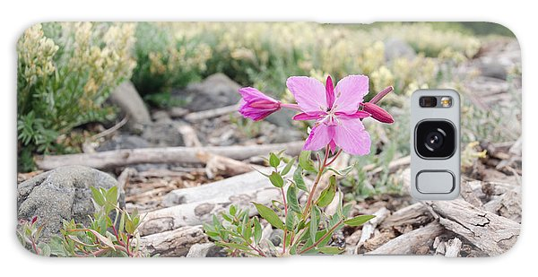 Mountain Wild Flowers Galaxy Case