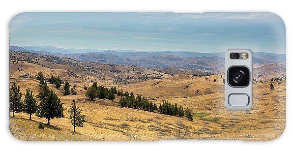 Mountainous Terrain In Central Oregon Galaxy Case