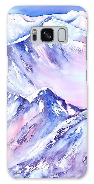 Mountains - Above The Clouds No. 1 Galaxy Case