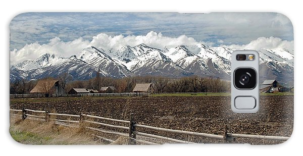 Mountains In Logan Utah Galaxy Case
