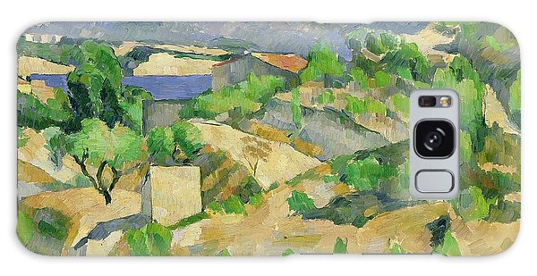 Hills Galaxy Case - Mountains In Provence by Paul Cezanne