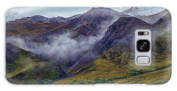 Denali Galaxy Case - Mountains In The Mist by Rick Berk