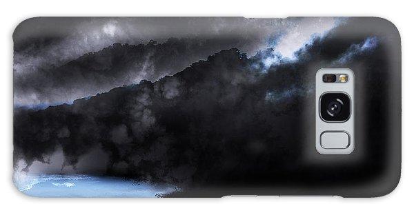 Mountains Of The Blue Ridge Galaxy Case by Gray  Artus