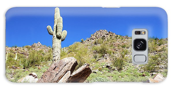 Mountainside Cactus 2 Galaxy Case by Ed Cilley