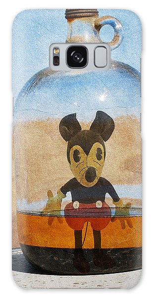 Mouse In A Bottle  Galaxy Case by Jerry Cordeiro