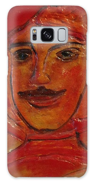 Moustached Prince Galaxy Case