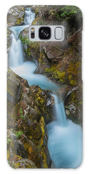 Moutain Waterfalls 5857 Galaxy Case