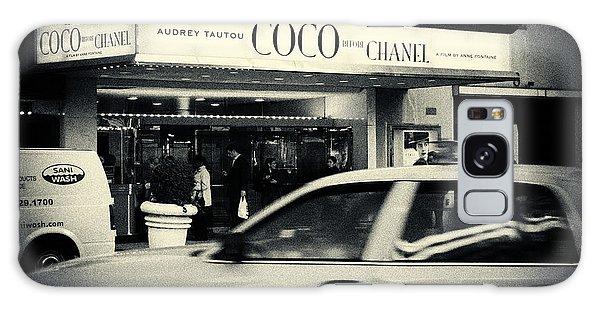 Movie Theatre Paris In New York City Galaxy Case by Sabine Jacobs