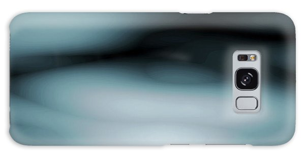 Strange Clouds Galaxy Case - Moving Clouds Abstract Series 1 by Abstract Angel Artist Stephen K