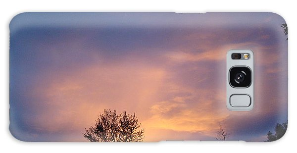 Moving Sunset Galaxy Case by Lisa Rose Musselwhite