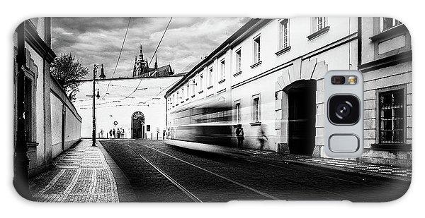 Street Tram Galaxy Case