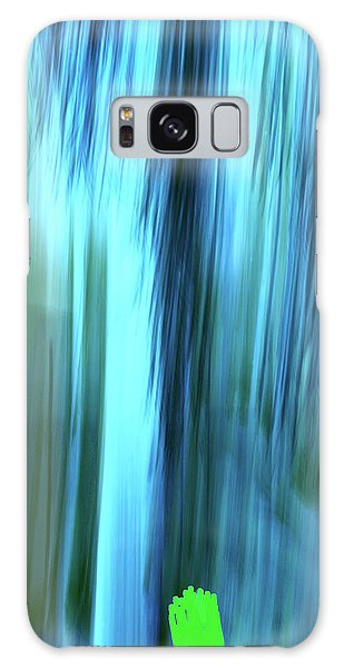 Moving Trees 37-15portrait Format Galaxy Case