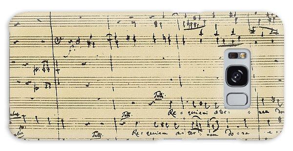 Mozart: Requiem Excerpt Galaxy Case