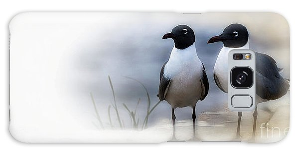 Mr And Mrs Laughing Gull Galaxy Case