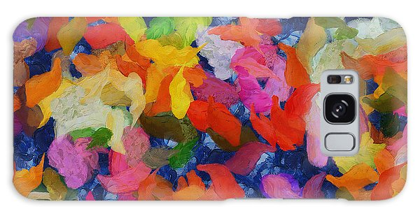 Mr Autumn Meets  Lady Spring - Painting - Wet Paint  Galaxy Case by Sir Josef - Social Critic -  Maha Art