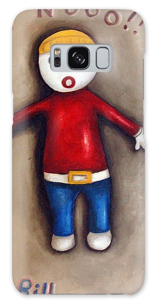 Mr. Bill Galaxy Case by Leah Saulnier The Painting Maniac