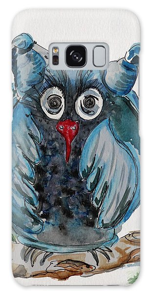 Mr. Blue Owl Galaxy Case