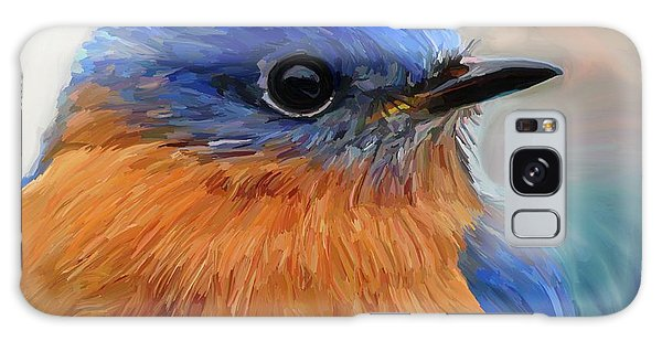 Bluebird Galaxy Case - Mr. Blue by Patti Siehien