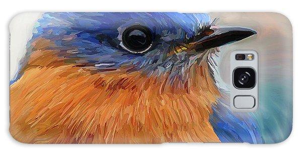 Bluebird Galaxy S8 Case - Mr. Blue by Patti Siehien