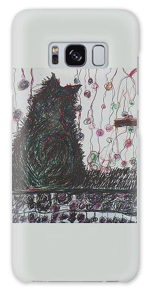 Mr. Cat Galaxy Case