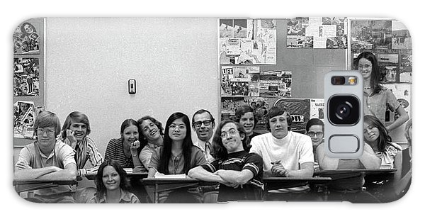 Mr Clay's Ap English Class - Cropped Galaxy Case