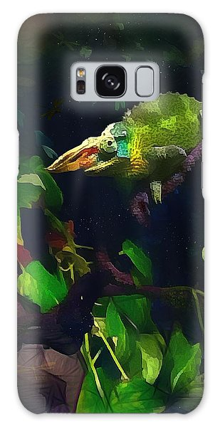Mr. H.c. Chameleon Esquire Galaxy Case