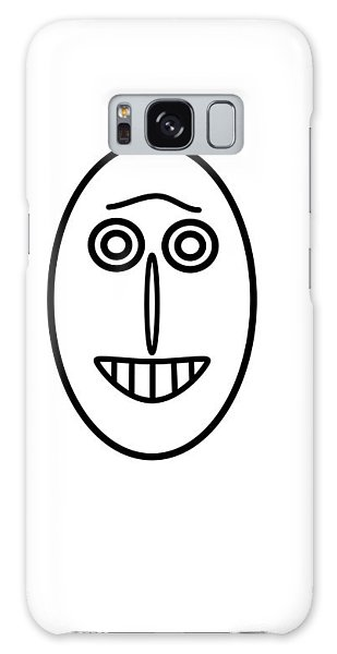 Mr Mf Has A Smile Galaxy Case