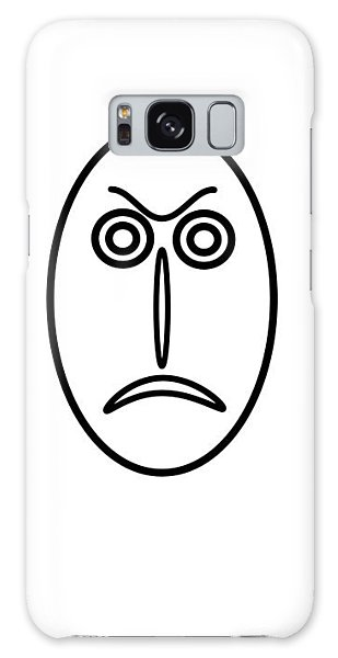 Mr Mf Is Angry Galaxy Case